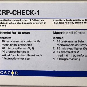 10 stk. CRP TEST For Easy Reader