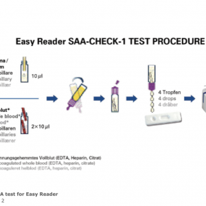 10 stk. SAA test for Easy Reader