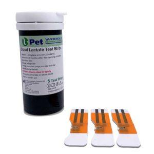 Laktat L-Pet testrips (25 stk.)