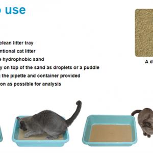 Medicat – Kattesand til let opsamling af urinprøve.
