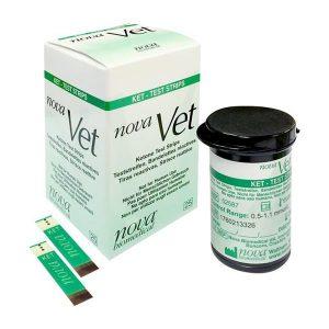 NovaVet Ketone Test Strips (1×25)