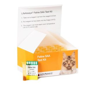 SAA test til Feline (Kat) 10 stk.