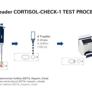 10 stk. Cortisol test for Easy Reader