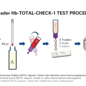 10 stk. Hb Total test for Easy Reader