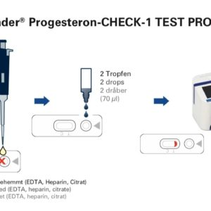 10 stk. Progesterone test for Easy Reader