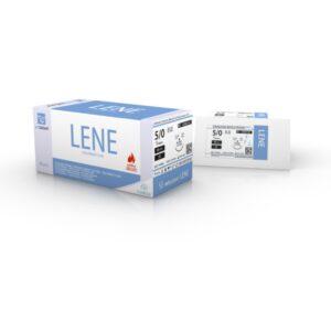 Vetsuturer LENE 5/0 (12 stk.) Reverse Cutting (LENE1CN)