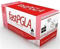 Vetsuture PGLAfast 4/0 (12 stk.) – Reverse Cutting Needle – Triangular (FPGLA1CN)